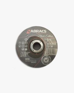 Abracs Thin Cutting Discs 115 x 1 Black Edition Bulk Pack 25