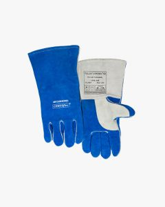 Weldas Blue COMFOflex Welding Gauntlet 10-2087