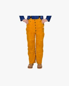 Weldas Golden Brown split cowleather welding pants