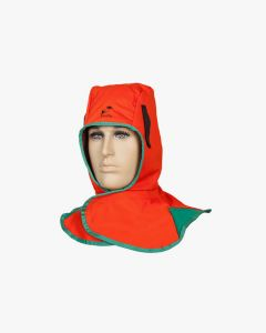 Weldas Fire Fox flame retardant welding hood, orange