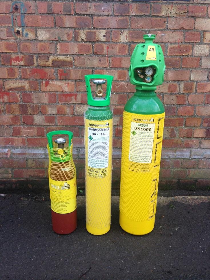 Hobbyweld Rent Free Gas Cylinders